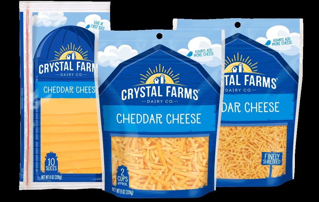 Cheddar_Crystal Farms Cheddar Cheese