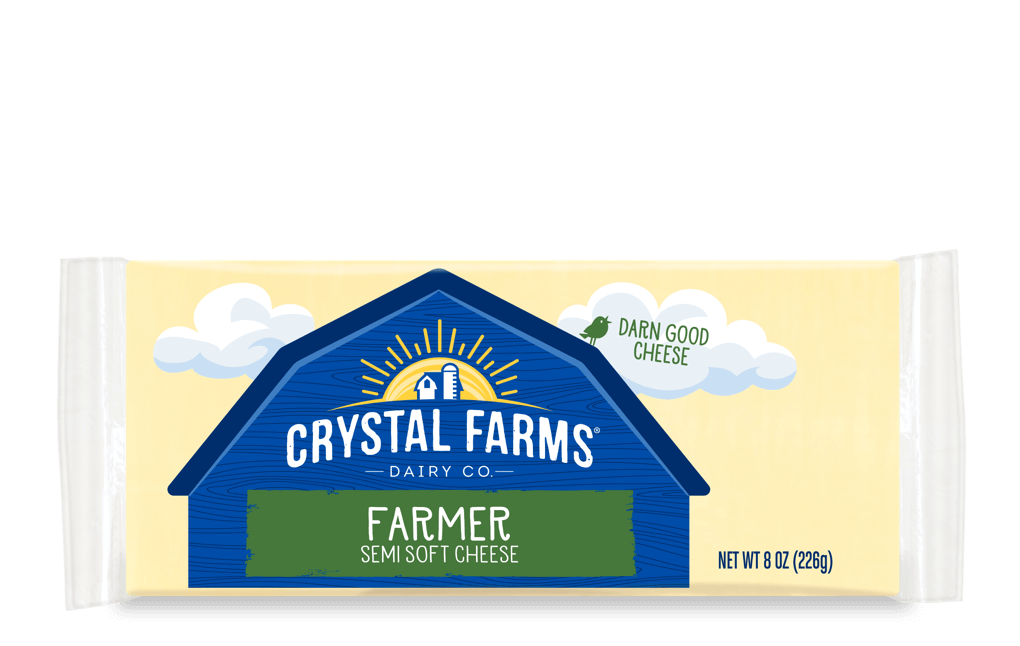 Cheddar_Crystal Farms Farmer Cheese