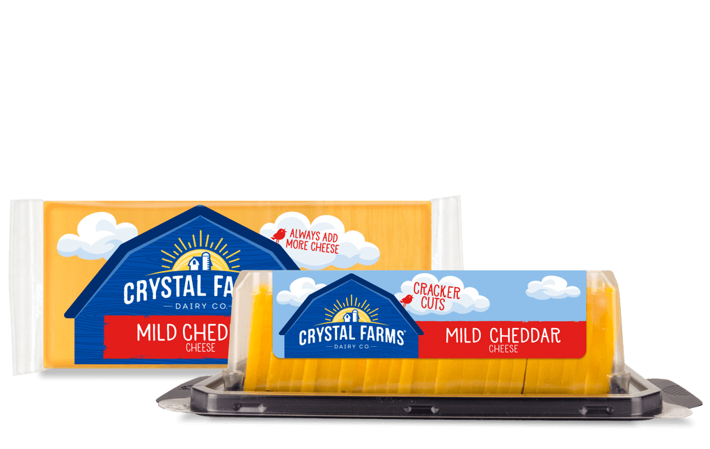 Cheddar_Crystal Farms Mild Cheddar Cheese