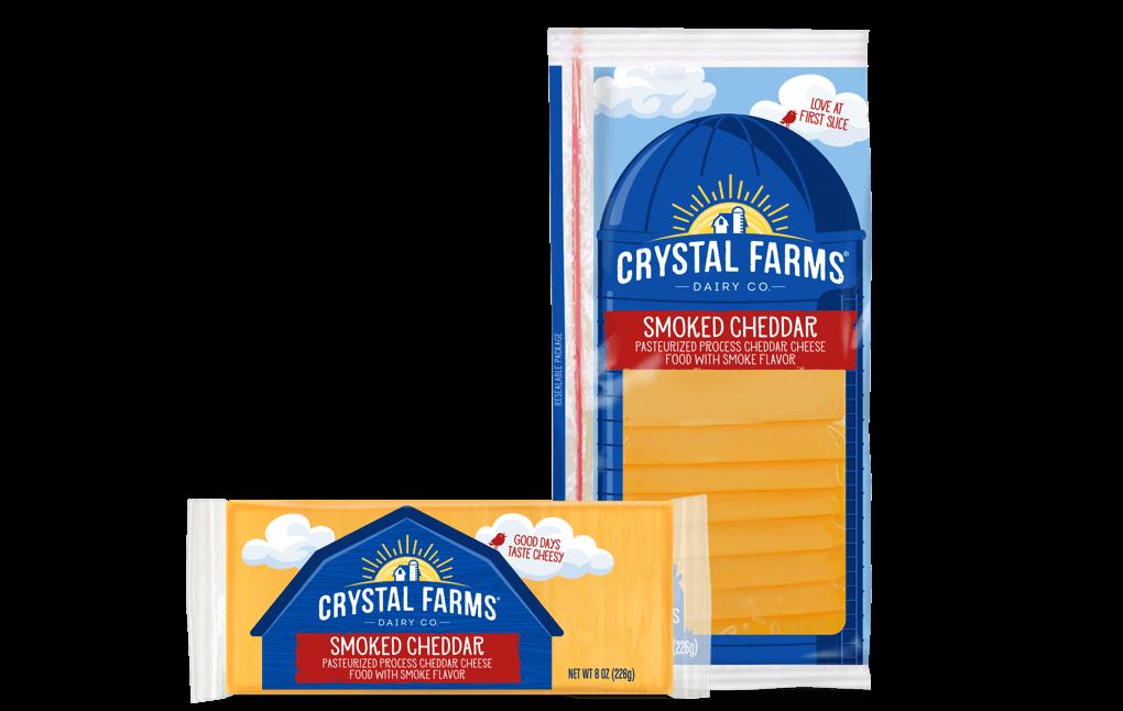 Cheddar_Crystal Farms Smoked Cheddar Cheese