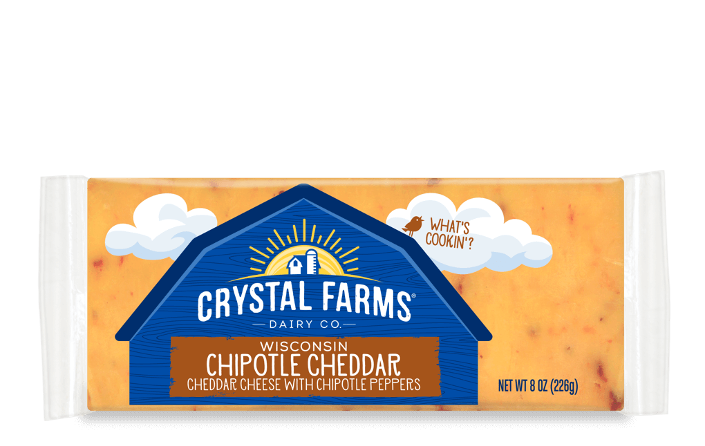 Cheddar_Crystal Farms Wisconsin Chipotle Cheddar Cheese