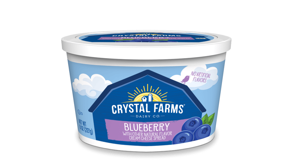 Cream Cheese_Crystal Farms Blueberry Cream Cheese