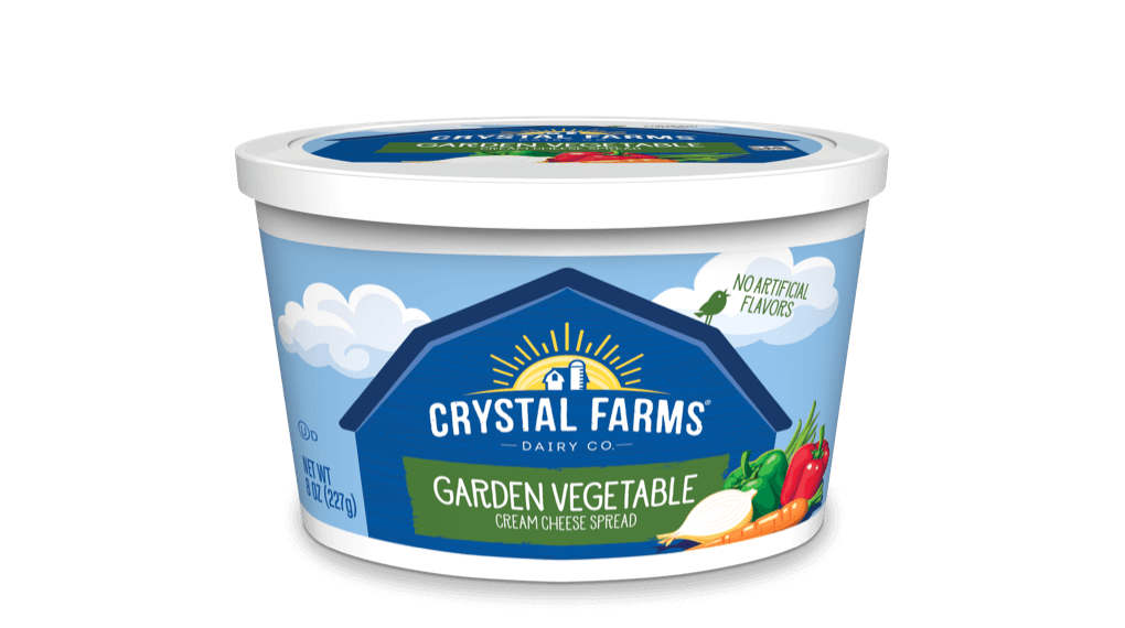 Cream Cheese_Crystal Farms Garden Vegetable Cream Cheese