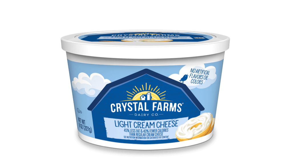 Cream Cheese_Crystal Farms Light Cream Cheese