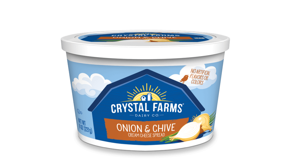 Cream Cheese_Crystal Farms Onion _ Chive Cream Cheese