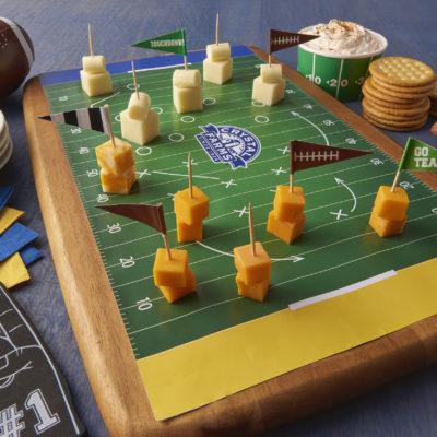 FootballFieldCheeseCubes