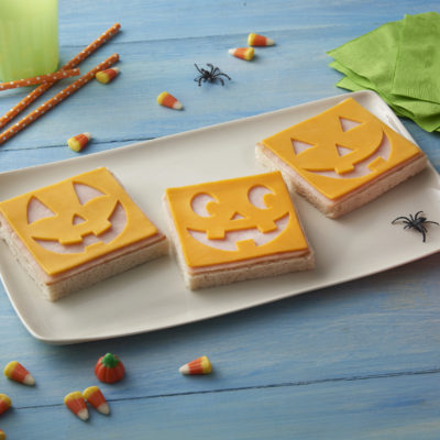 Halloween Sliced Cheese Platter
