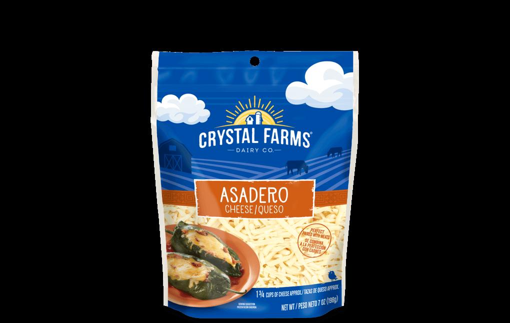 Hispanic_Crystal Farms Asadero Cheese