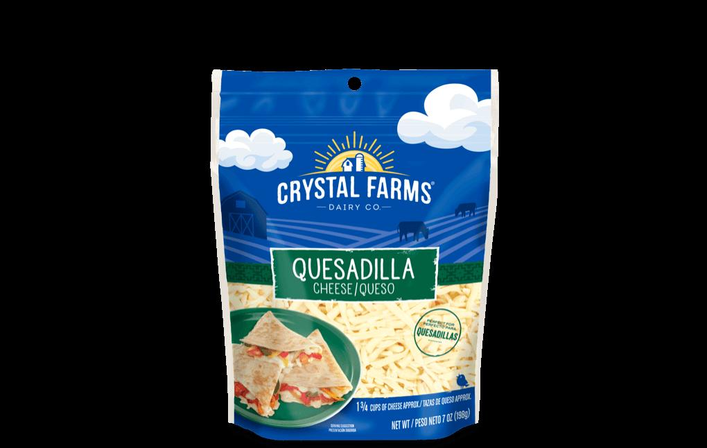 Hispanic_Crystal Farms Quesadilla Cheese
