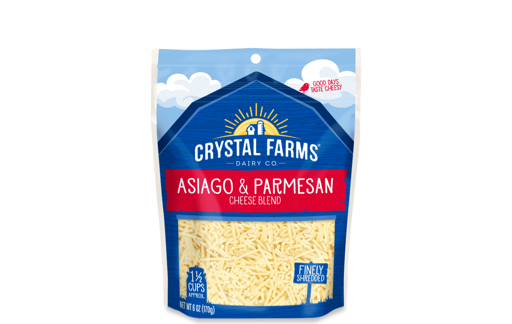 Italian_Crystal Farms Asiago _ Parmesan Cheese