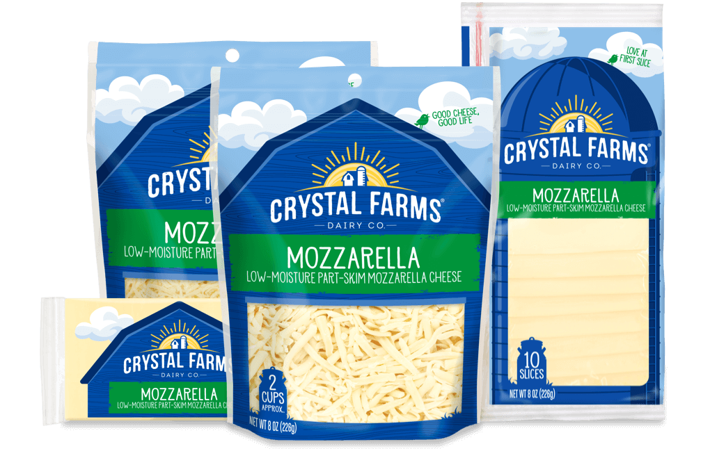 Italian_Crystal Farms Mozzarella Cheese