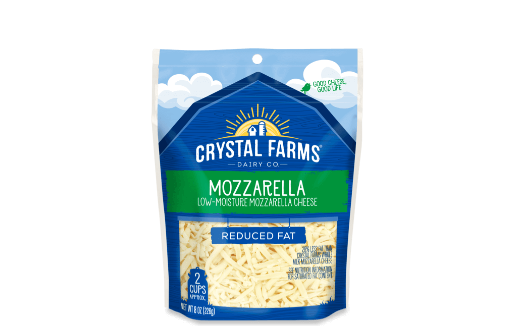 Italian_Crystal Farms Reduced Fat Mozzarella Cheese