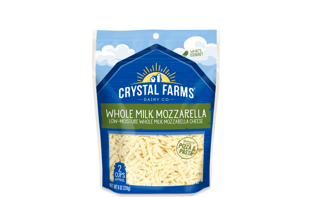 Italian_Crystal Farms Whole Milk Mozzarella
