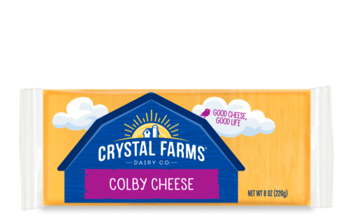 Colby Cheese From Crystal Farms