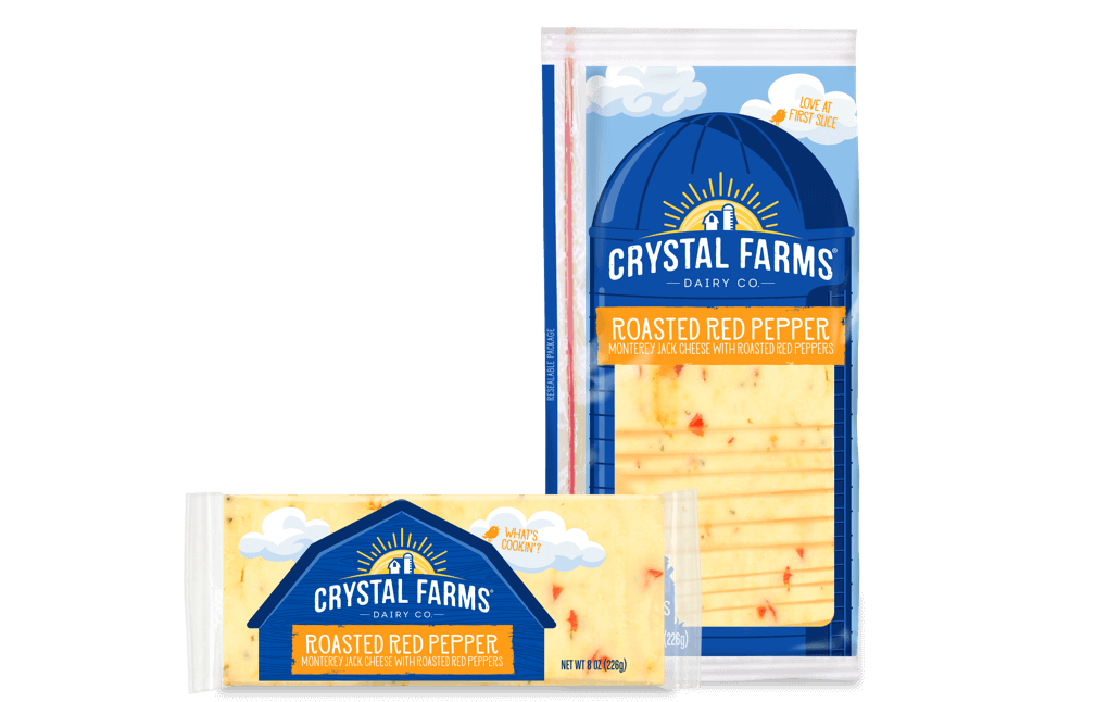 Jack_Crystal Farms Roasted Red Pepper Cheese