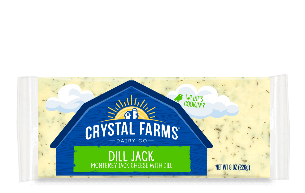 Jack_Crystal Farms Wisconsin Dill Jack Cheese