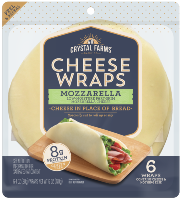 Mozzarella Cheese Wrap 3D FINAL