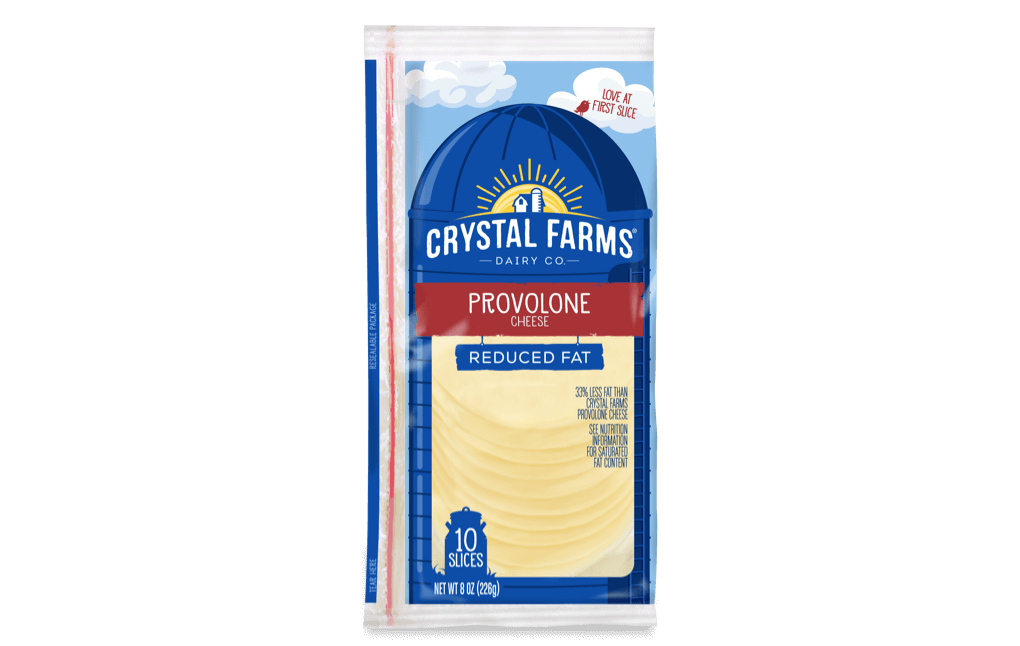 Provolone_Crystal Farms Reduced Fat Provolone Cheese
