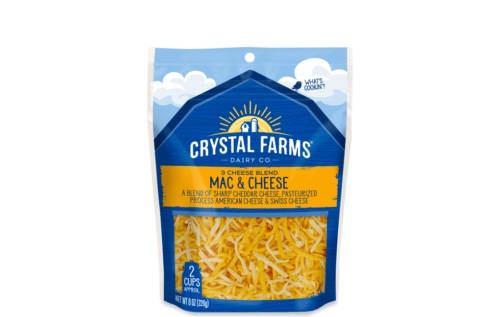 Mac Amp Cheese From Crystal Farms
