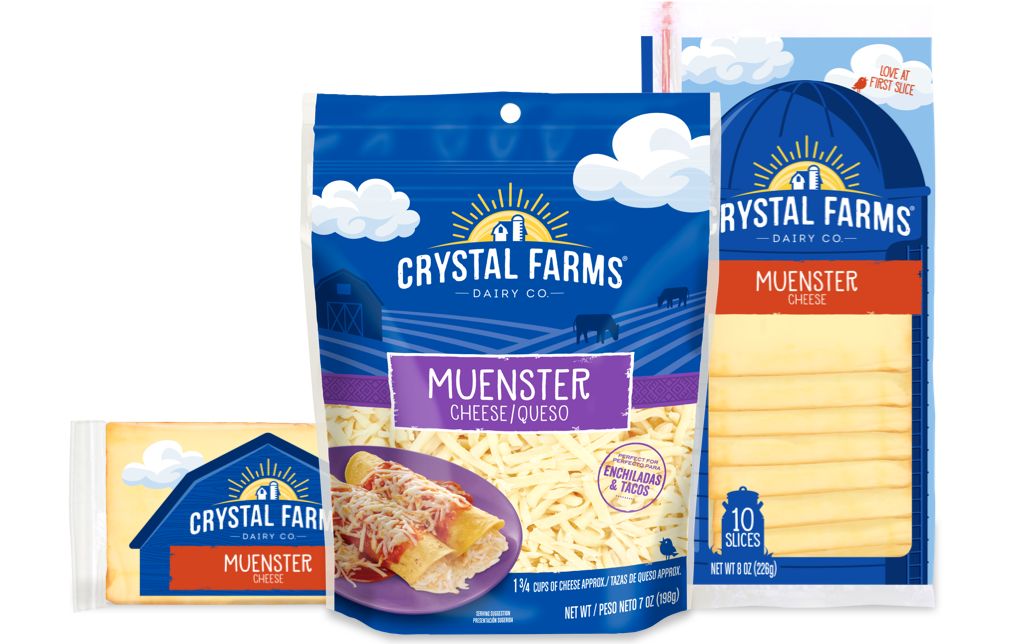 Speciality_Crystal Farms Muenster Cheese