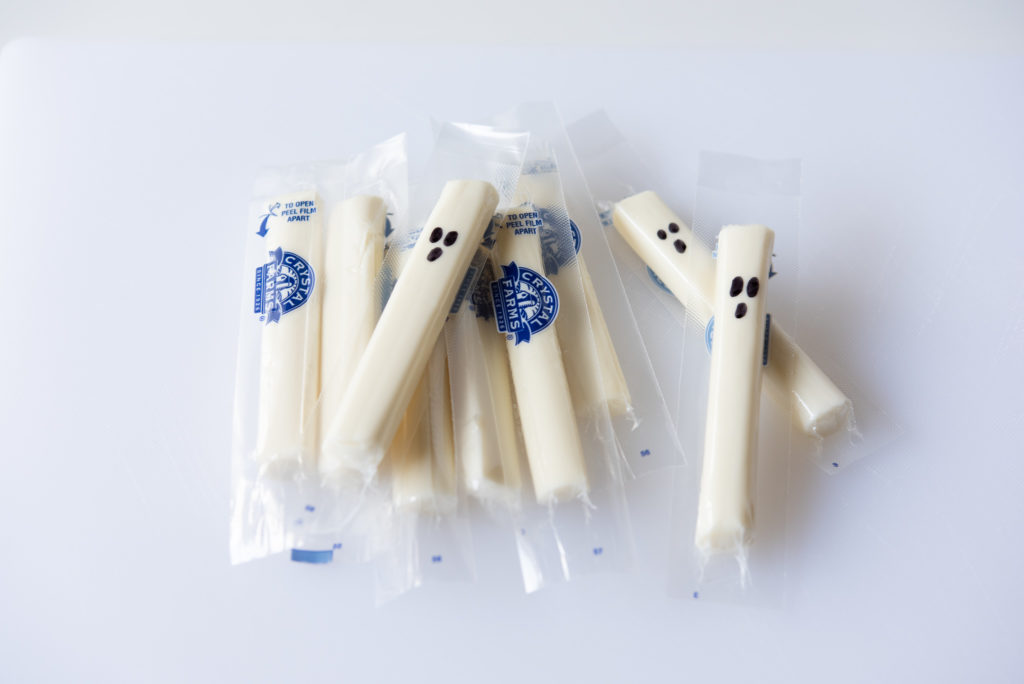 String Cheese Ghosts Step 3