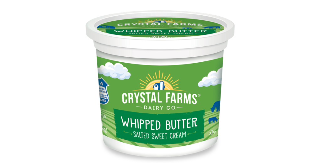 Dairy_Crystal Farms Whipped Butter Tub
